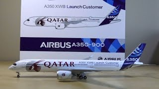 """JC Wings 1:200 Qatar A350-900 """"Launch Customer"""" Unboxing"""