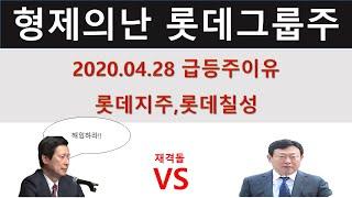 롯데지주 롯데칠성 형제의난 재격돌, 빅히트 상장추진 기…