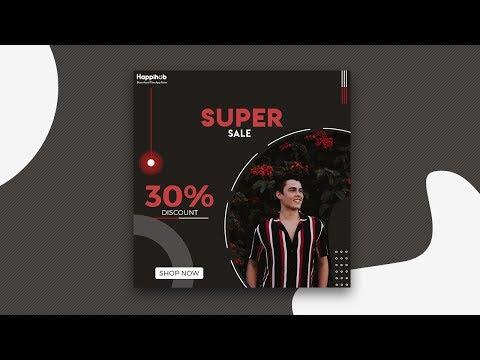 Professional fashion Banner or Social Media Post Design in Photoshop | Designhob
