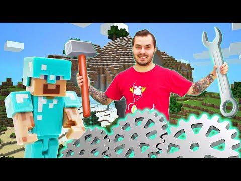 Видео обзор - Что сможет построить в Майнкрафт Нуб? - Онлайн игра Minecraft