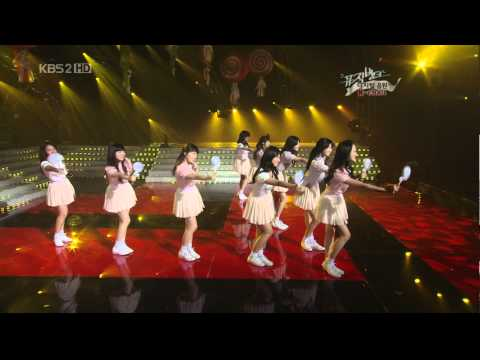SNSD 080411 Kissing you + Ba Ba + Girls Generati