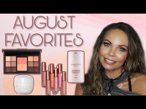 AUGUST 2019 FAVORITES | MAKEUP & SKINCARE thumbnail
