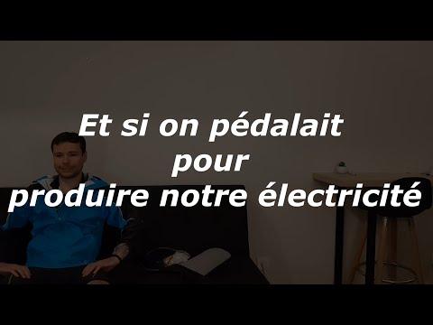 Et si on pédalait pour produire notre électricité ?