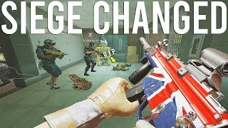 Rainbow Six Siege changed...