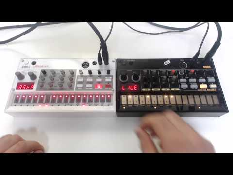 korg volca sample session 4 (sample+beats)