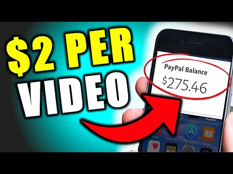 Earn $2.00+ Every SINGLE Video YOU Watch?!! (REAL PROOF!)