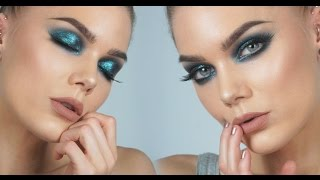 Trying Out The New Moondust Palette from Urban Decay | Linda Hallberg Make Up Tutorials