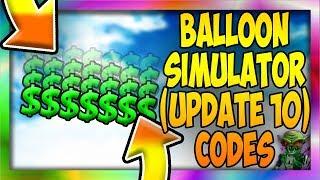 *7* NEW CODES ([❄️CODE: ICEDOMINUS ❄️] 🎈 Balloon Simulator UPDATE 10 CODES) Roblox