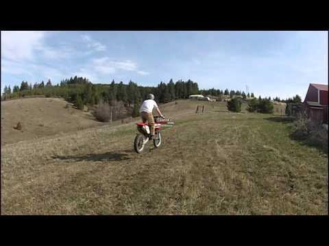 Dirt Bike Trailer Jump