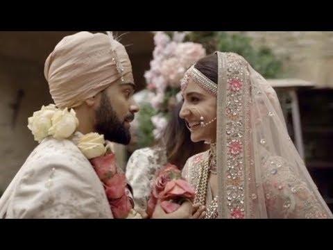Full HD: Anushka Sharma - Virat Kohli's Cute Moments From Their Wedding
