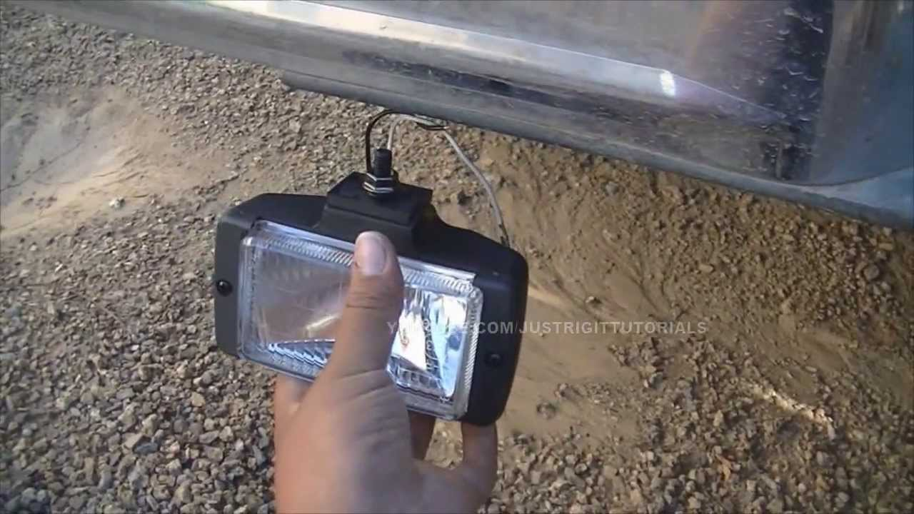 installing back up lights - YouTube on