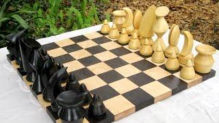 20th Century Modern Chess Set Designs: Bauhaus, Man Ray, Max Ernst - AncientChess.com