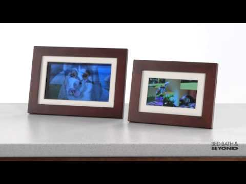 Giinii 10 1 Inch Digital Photo Frame At Bed Bath Beyond Youtube