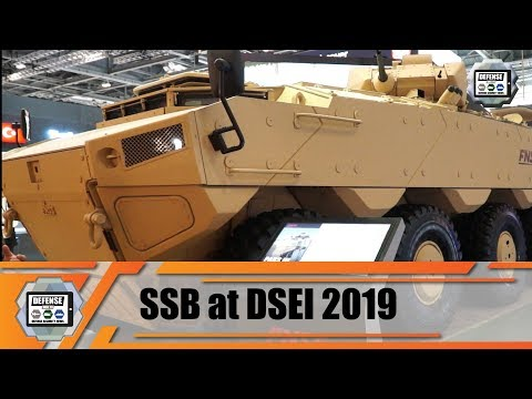 DSEI 2019 Turkish Defense Industry SSB Defense Military Equipment Innovations Exhibition London UK