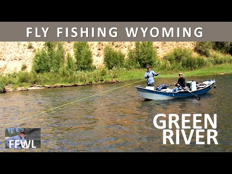 Fly Fishing Wyoming's Green River in August-Daniel Float [Series Episode 12]