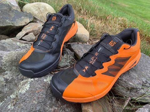 Salomon X Alpine Pro Initial Review, Shoe Details and Comparisons