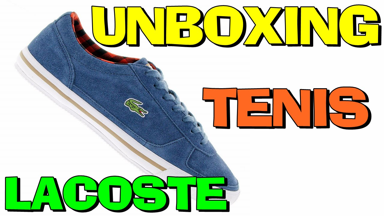 878bb4caaef Unboxing Tenis Lacoste Troyes Fld Centauro (PT-BR) HD - YouTube