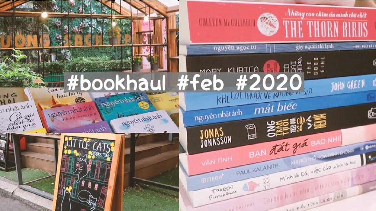 Đi đường sách mùa  dịch Corona để mua Mắt Biếc | book haul  ?  tháng 2/2020 | Hannah Lee #bookhaul