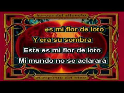 Karaoke Héroes Del Silencio - Flor De Loto