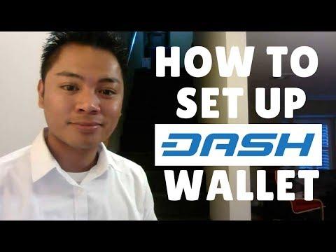 Blockchain Tutorial #4 - How To Setup A Dash Wallet - By Denni Lovejoy