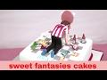 sweet fantasies Boys & Girls 18th Birthday Cakes