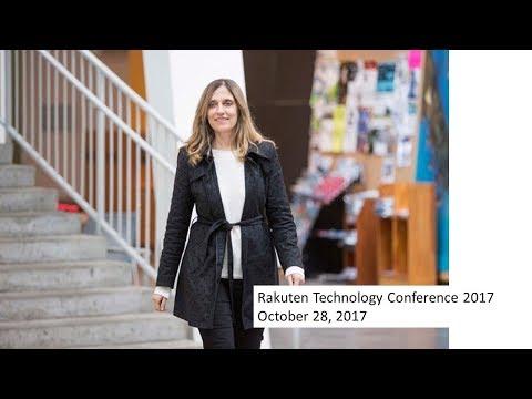 Rakuten Technology Conference - Regina Barzilay