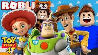 ADVENTURES IN the WORLD OF TOY STORY 4 the FILM on ROBLOX
