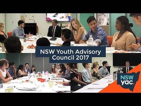NSW Youth Advisory Council 2017