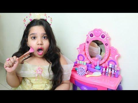 الأميرة شفا تتجهز للحفلة