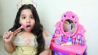 الأميرة شفا تتجهز للحفلة !!!