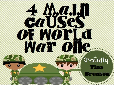 M.A.I.N. Causes of WWI - YouTube