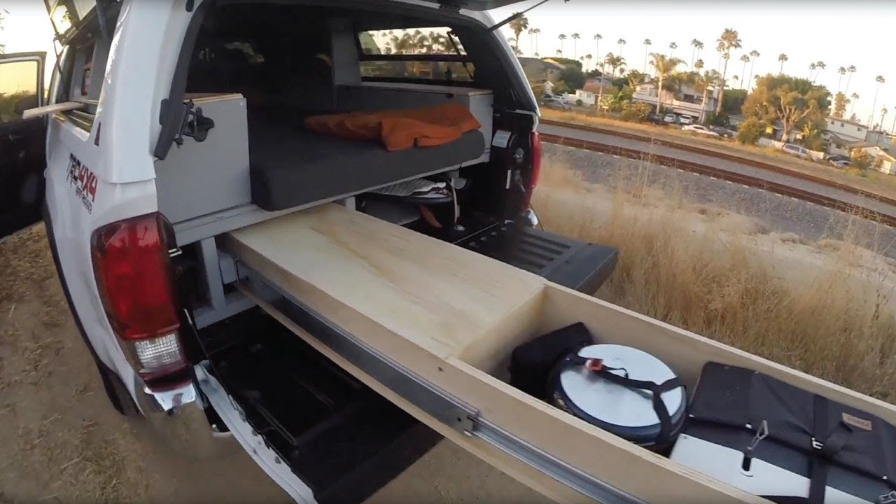 Ultimate Homemade DIY Truck Camper