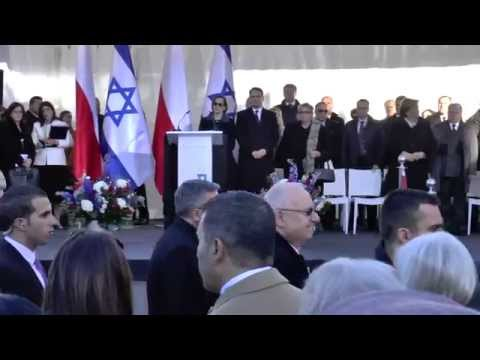 Grand opening of the Museum of the History of Polish Jews, Polin