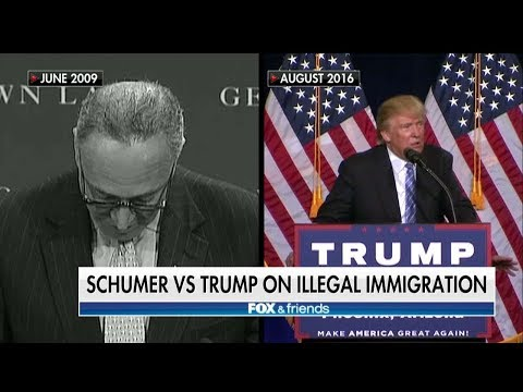 FLASHBACK: Schumer Sounded Like Trump on Immigration in 2009