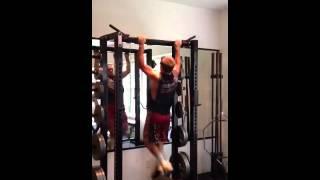 Kutztown Wrestler Cameron Kirby 46 Pull-Ups