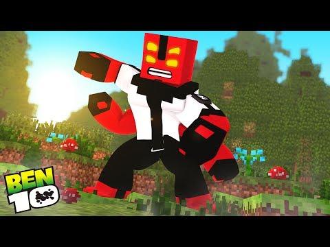 Minecraft: BEN 10 - VIREI O QUATRO BRAÇOS!!! #06