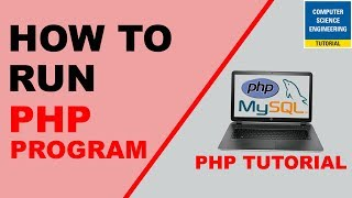 How to Run First PHP Program
