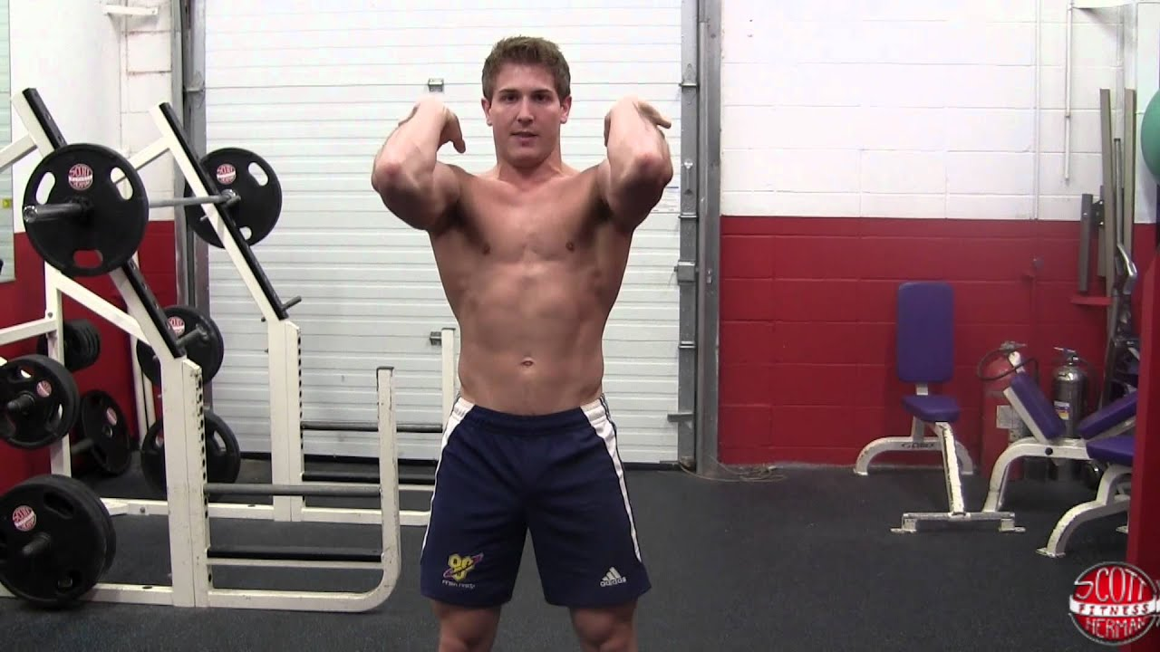 How To: Front Squat (Barbell) - YouTube