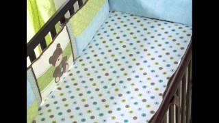 Nursery Furniture Sets Toyland 8 Piece Crib Bedding Set ; blue crib bedding