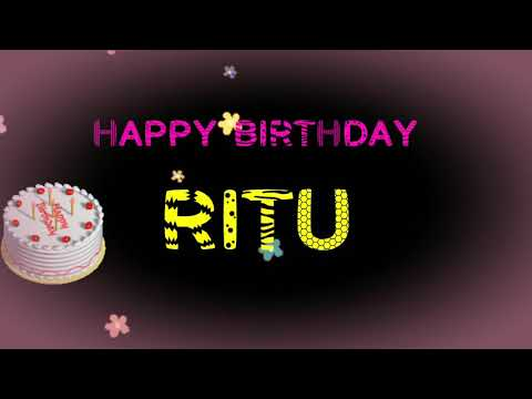 happy-birthday-ritu-name-wishes-video