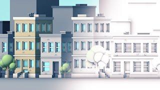 Сінема 4Д підручник - 5 способів оптимізувати оклюзія надає