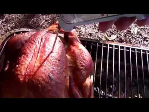 Dry-Brined Turkey & Potatos Smoked to Perfection on the PK Grill