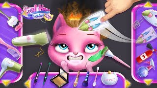 Cat Hair Salon Birthday Party - Kitty Haircut Care - TutoTOONS Games for Kids - Official Trailer