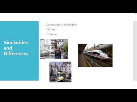 Expatriate Training Project: Belgium