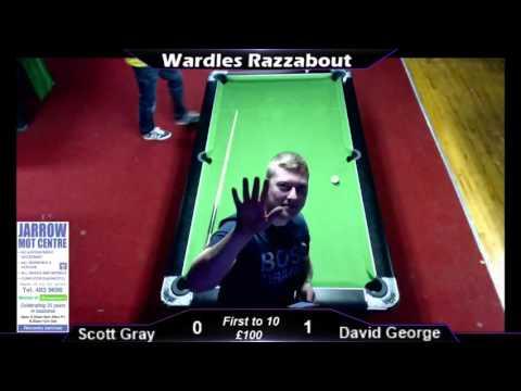Wardles Pool; Scott Gray v David George