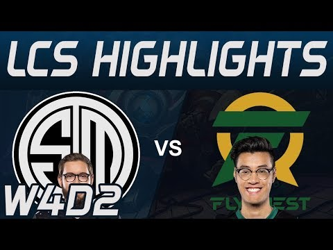 TSM vs FLY Highlights LCS Spring 2020 W4D2 Team Solo Mid vs Flyquest LCS Highlights 2020 by Onivia