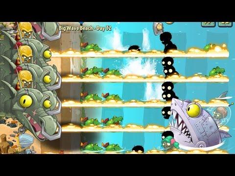 Plants vs Zombies 2 Epic Hack : Zombot Dark Dragon & Jalapeno vs Each Freakin