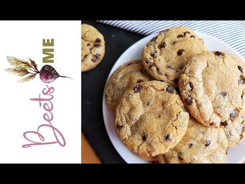 Μαλακά Μπισκότα με Σταγόνες Σοκολάτας - Soft Chocolate Chip Cookies Vegan | Beets me