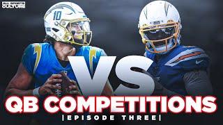 NFL QB Competition Breakdown: Tyrod Taylor vs Justin Herbert: Episode Three