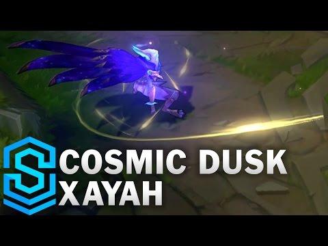 Cosmic Dusk Xayah Skin Spotlight - League of Legends